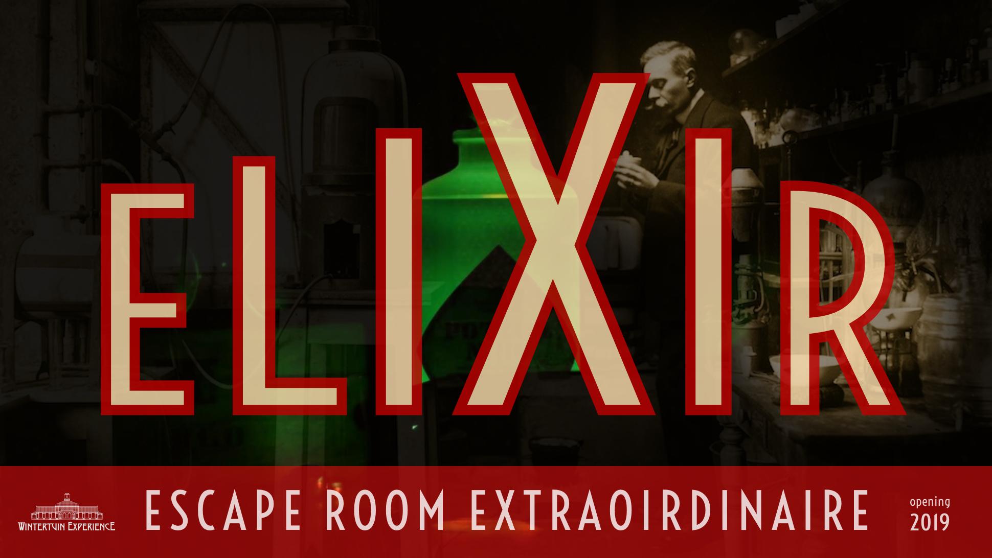 elixir escape room extraordinaire